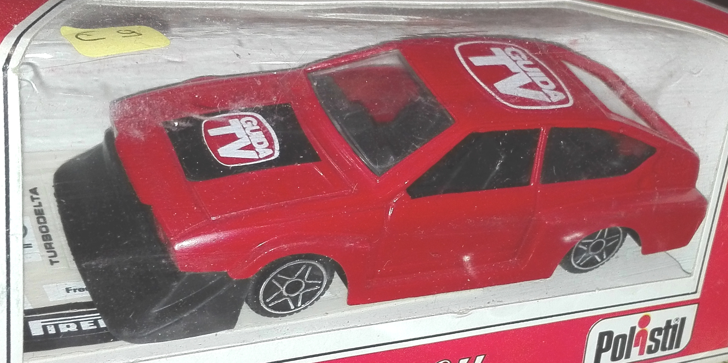E2004, Alfa Romeo Alfetta GTV 2000 Turbo Delta (Guida TV)