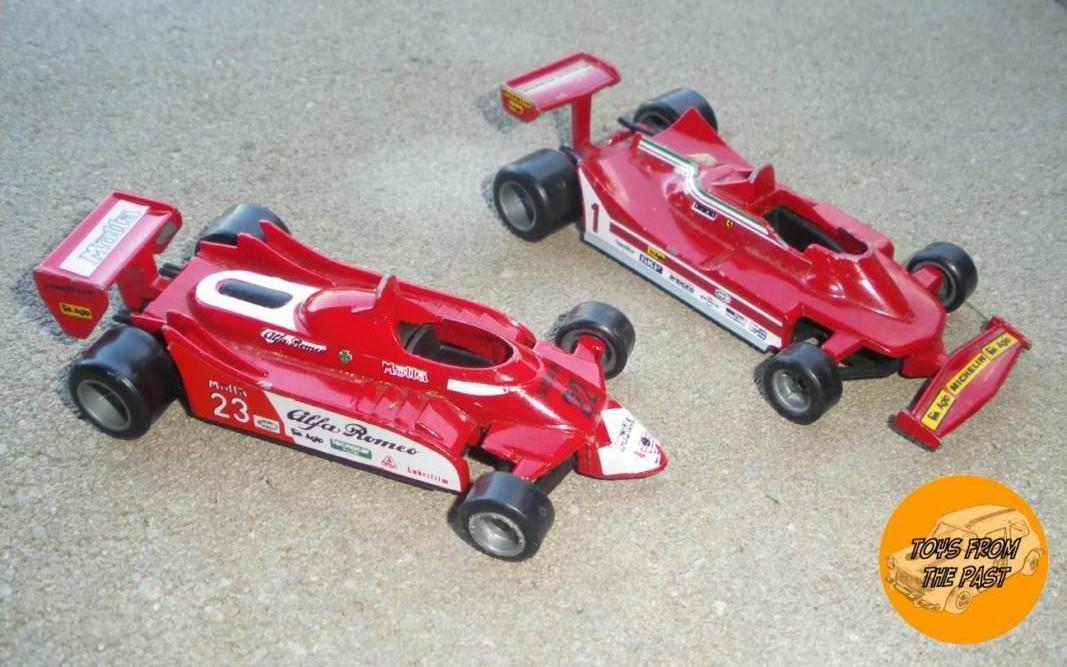 CE121 Alfa-Romeo 179 (1980) e CE122 Ferrari 312 T5 from (1980), N°1 Jody Scheckter (cc-by-nc-nd 3.0 toysfromthepast)