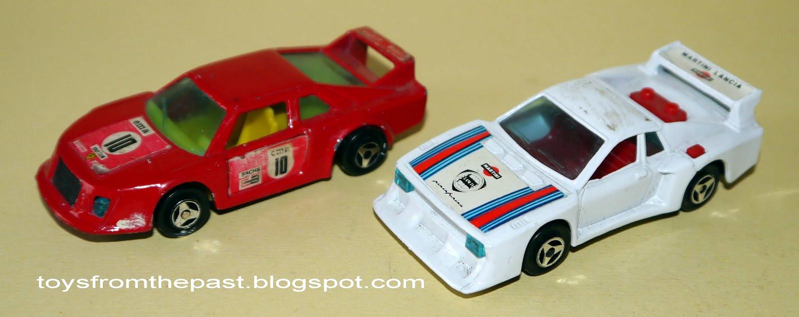RN8 Ferrari 308 GTB e RN14 lancia Beta rally (cc-by-nc-nd 3.0 toysfromthepast)
