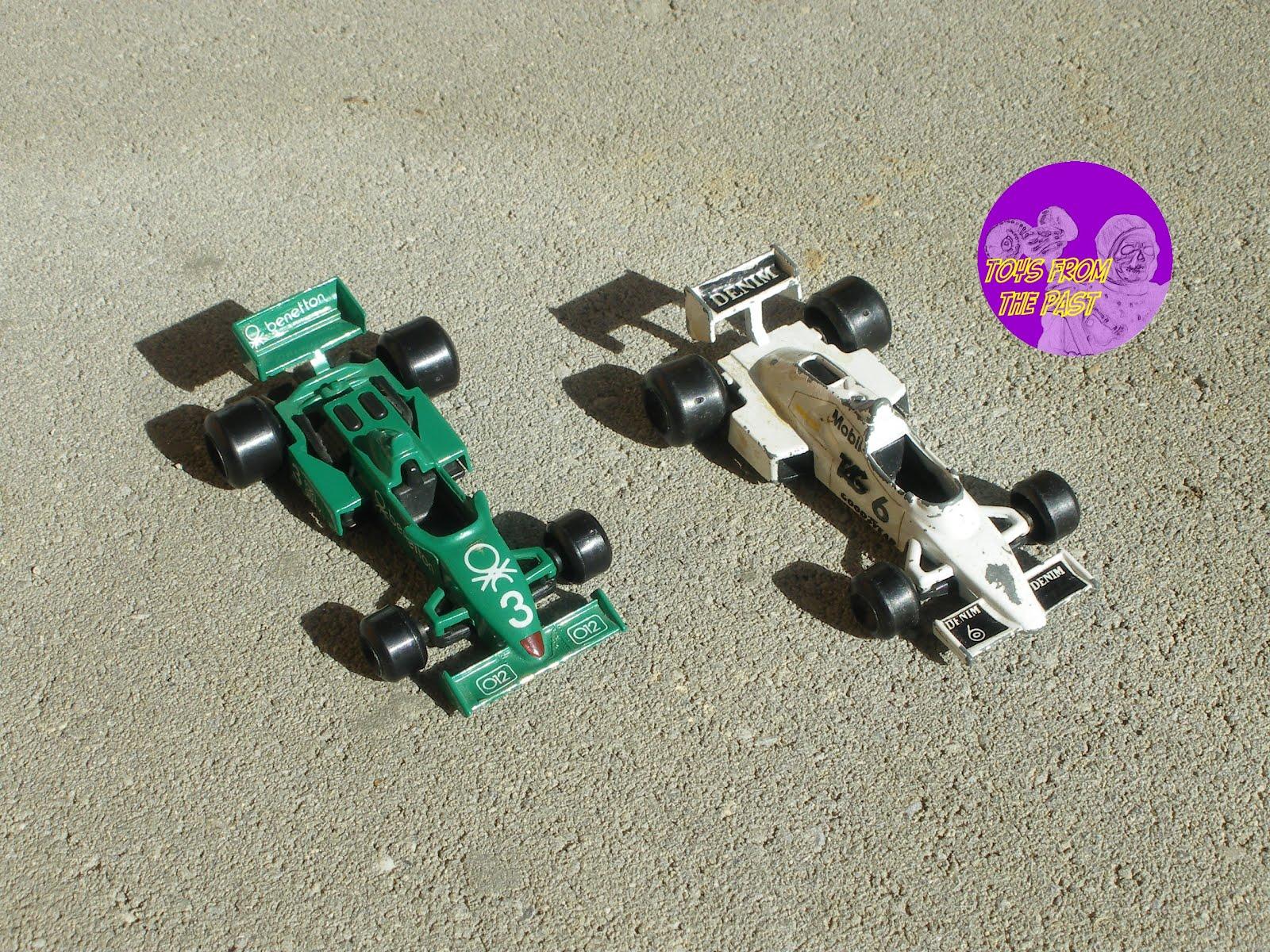 RN21 (verde) Tyrrel 011 e RN22 (bianca) Williams FW 08C (cc-by-nc-nd 3.0 toysfromthepast)
