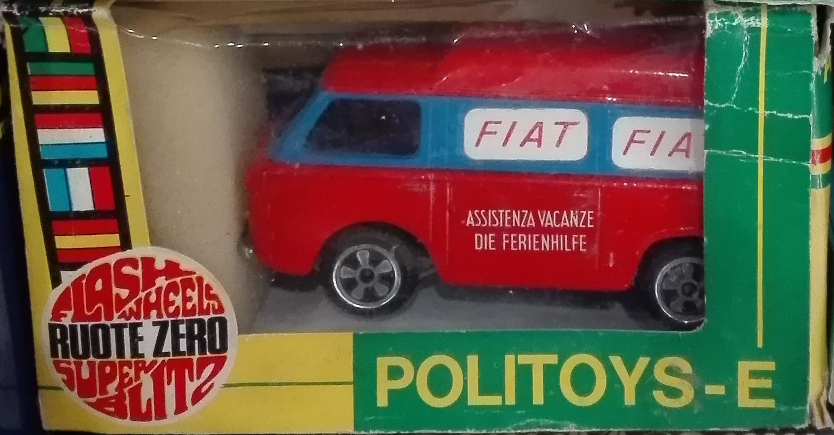 E24, Fiat 850T Van ACI Servizio Vacanze