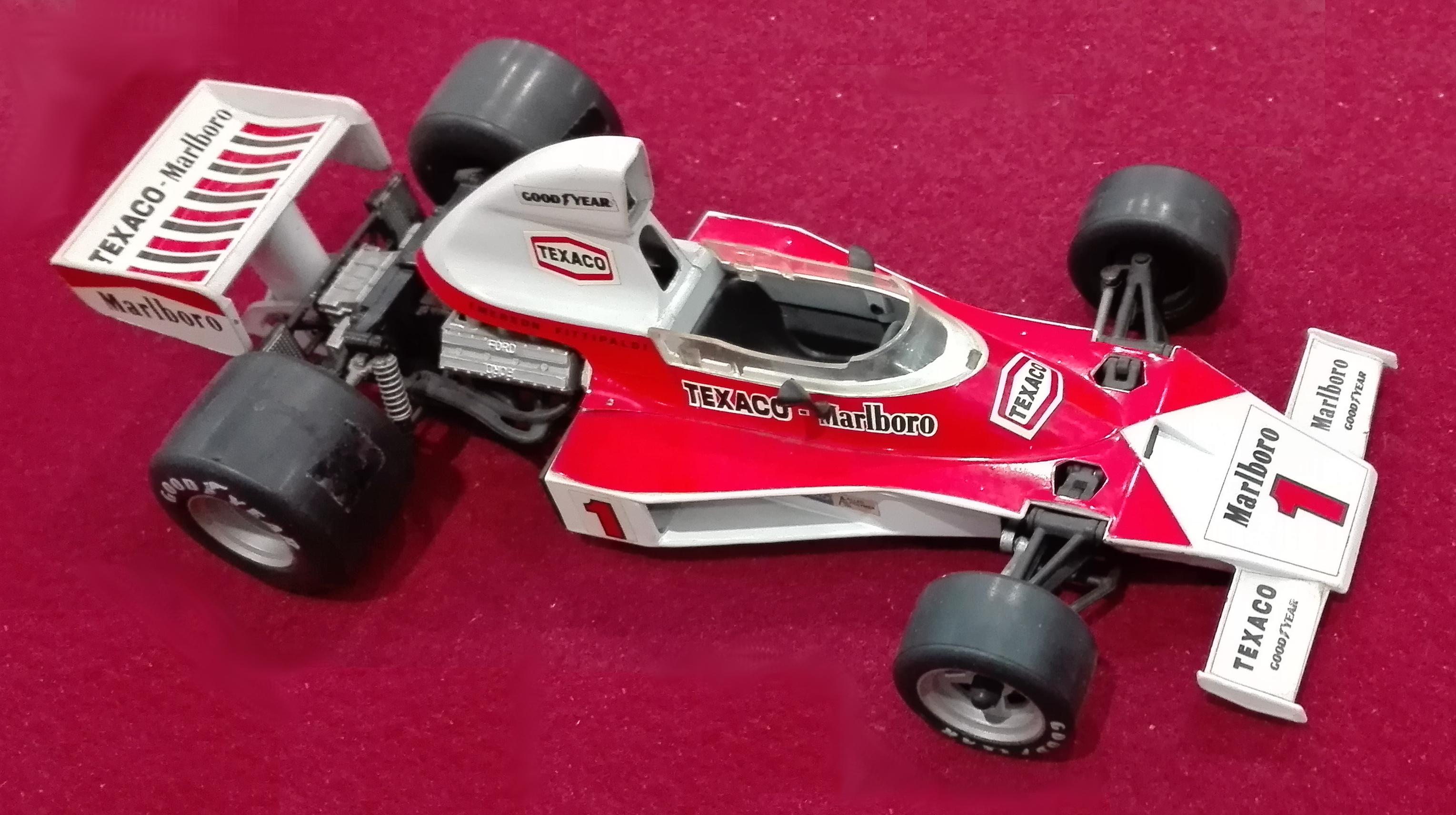 GF2, McLaren F1 M 23 Num.1 Marlboro Fittipaldi (cc-by-sa mia foto)