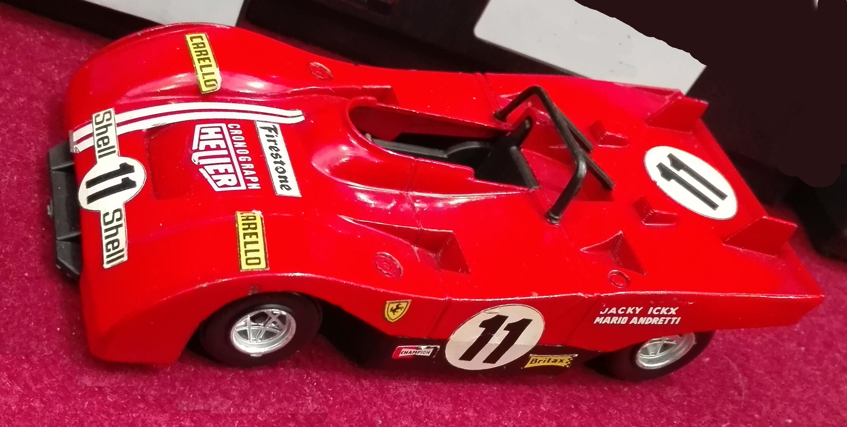 L1, Ferrari 312 PB N°11 guidata da Andretti e Ickx. Ha corso dal 1971 al 1973 (cc-by-sa mia foto)