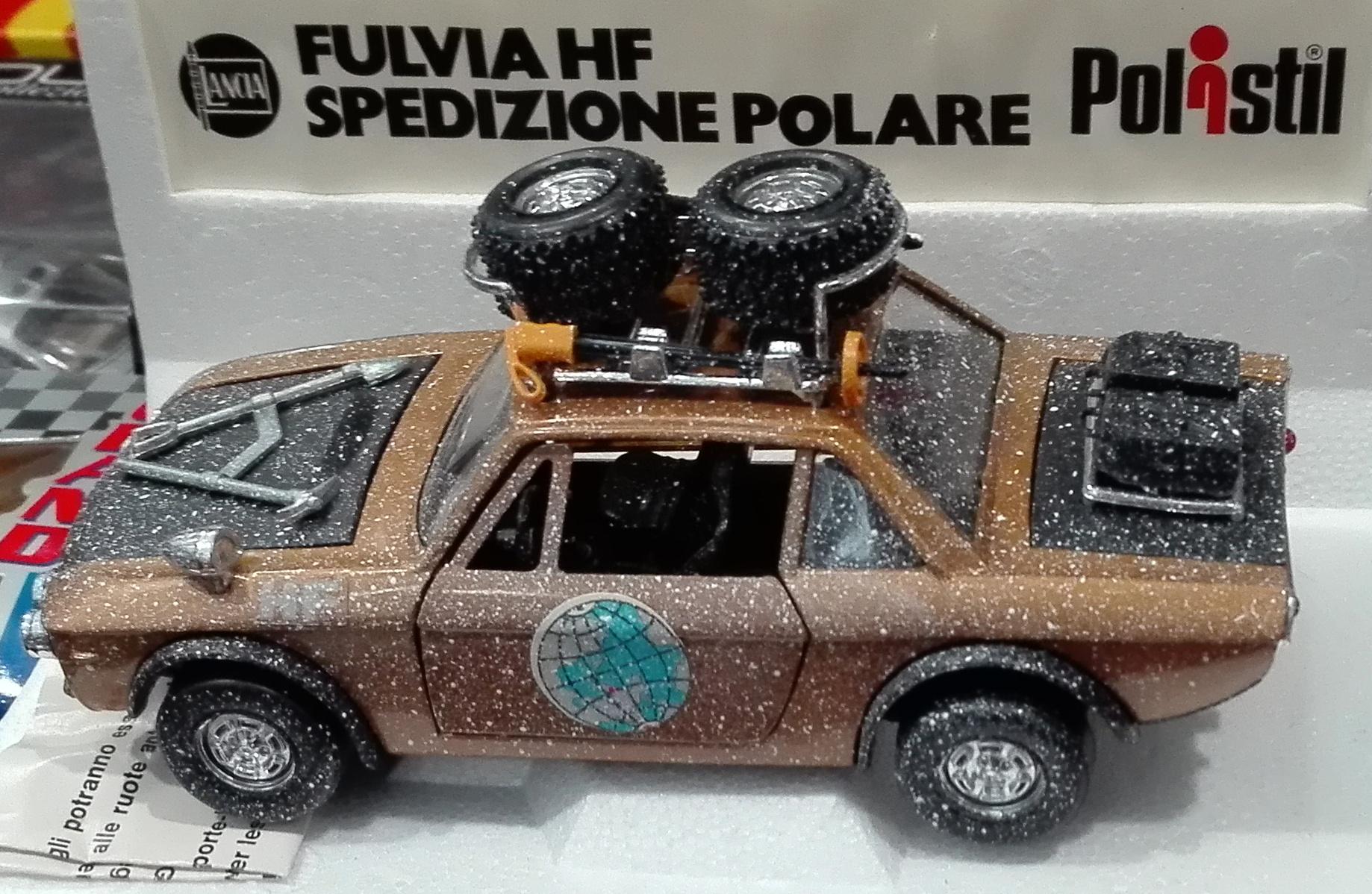 S19, Lancia Fulvia 1600 hf spedizione polare