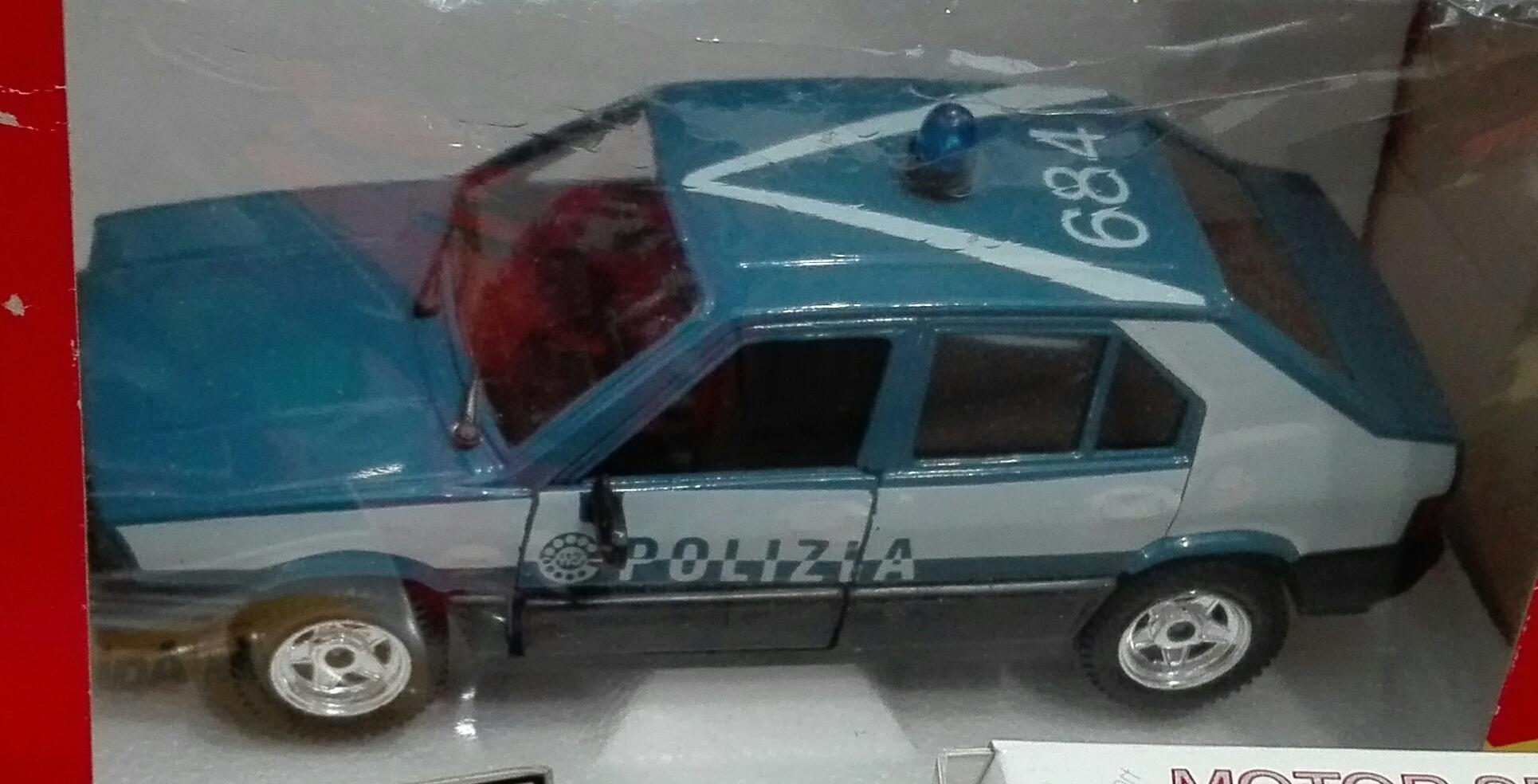 S317, Alfa Romeo 33 Polizia