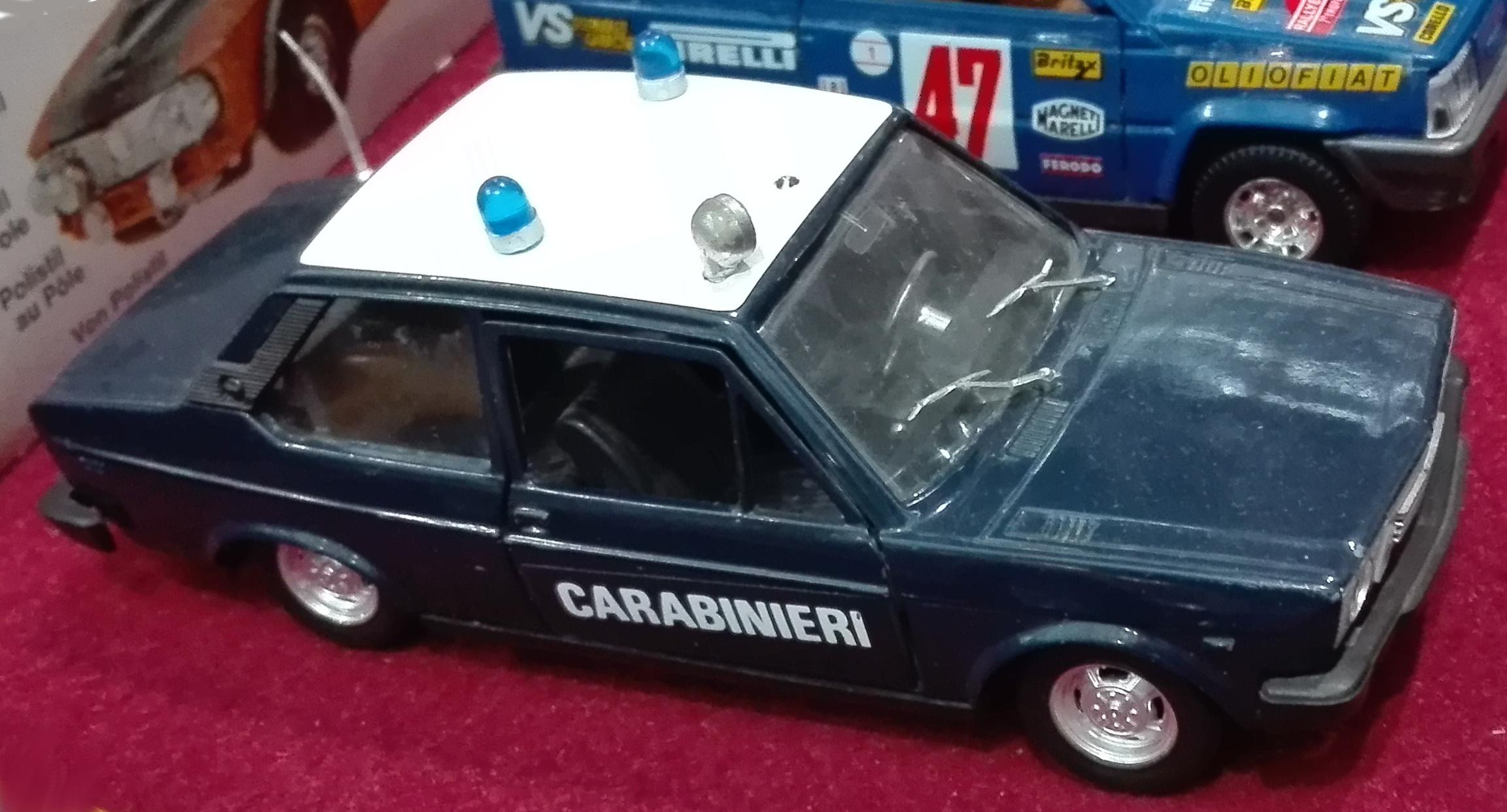 S69 (identica alla S669), Fiat 131 Carabinieri