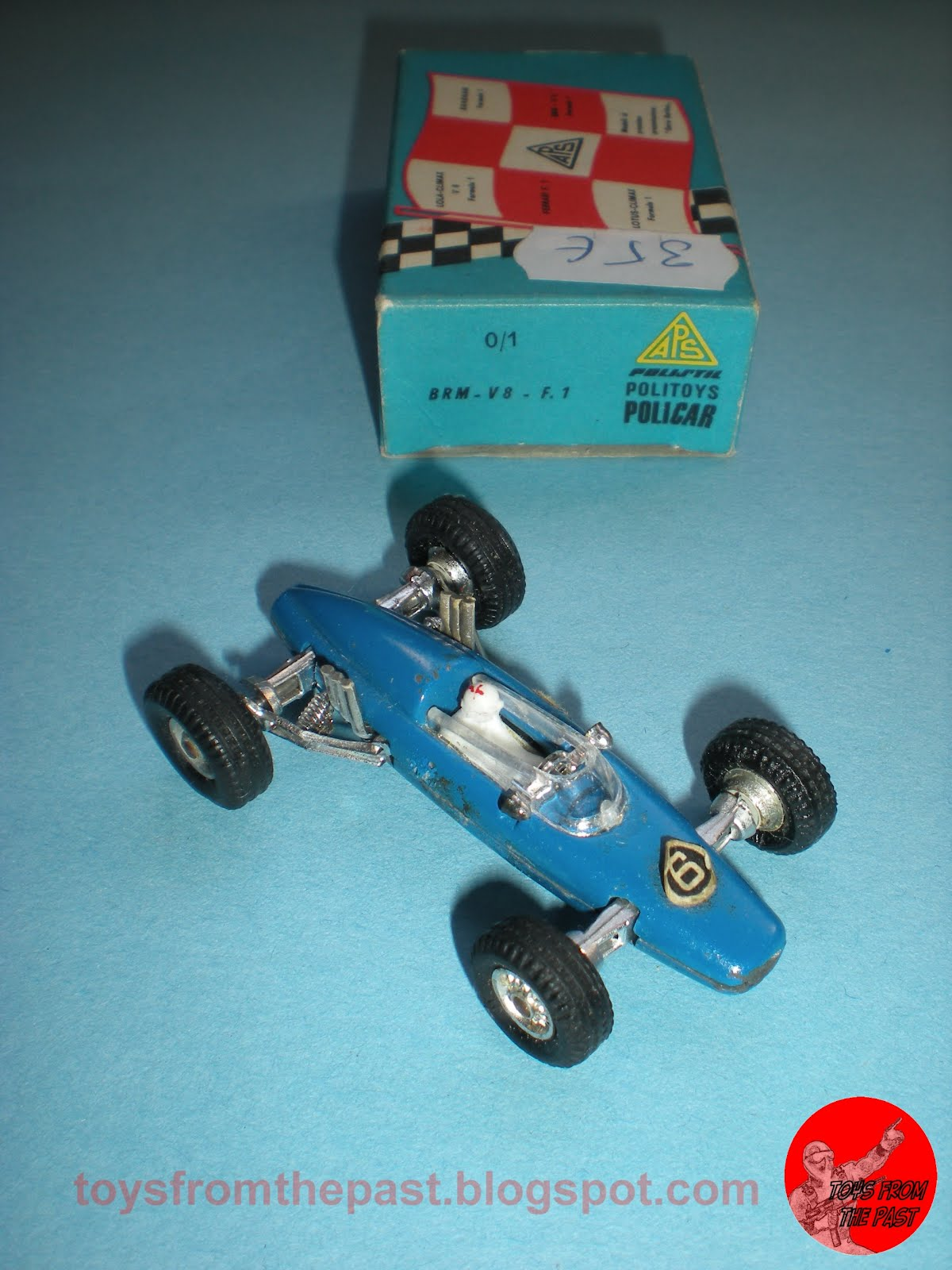 Penny 0/1 BRM V8 F.1 (cc-by-nc-nd 3.0 toysfromthepast)