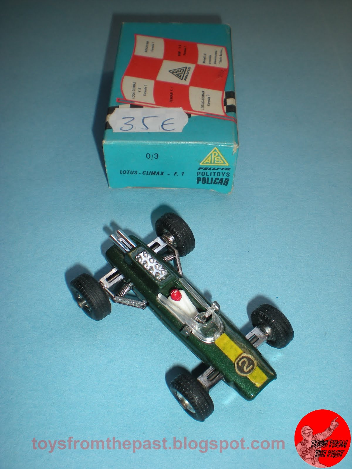 Penny 0/3 Lotus Climax F.1 (cc-by-nc-nd 3.0 toysfromthepast)