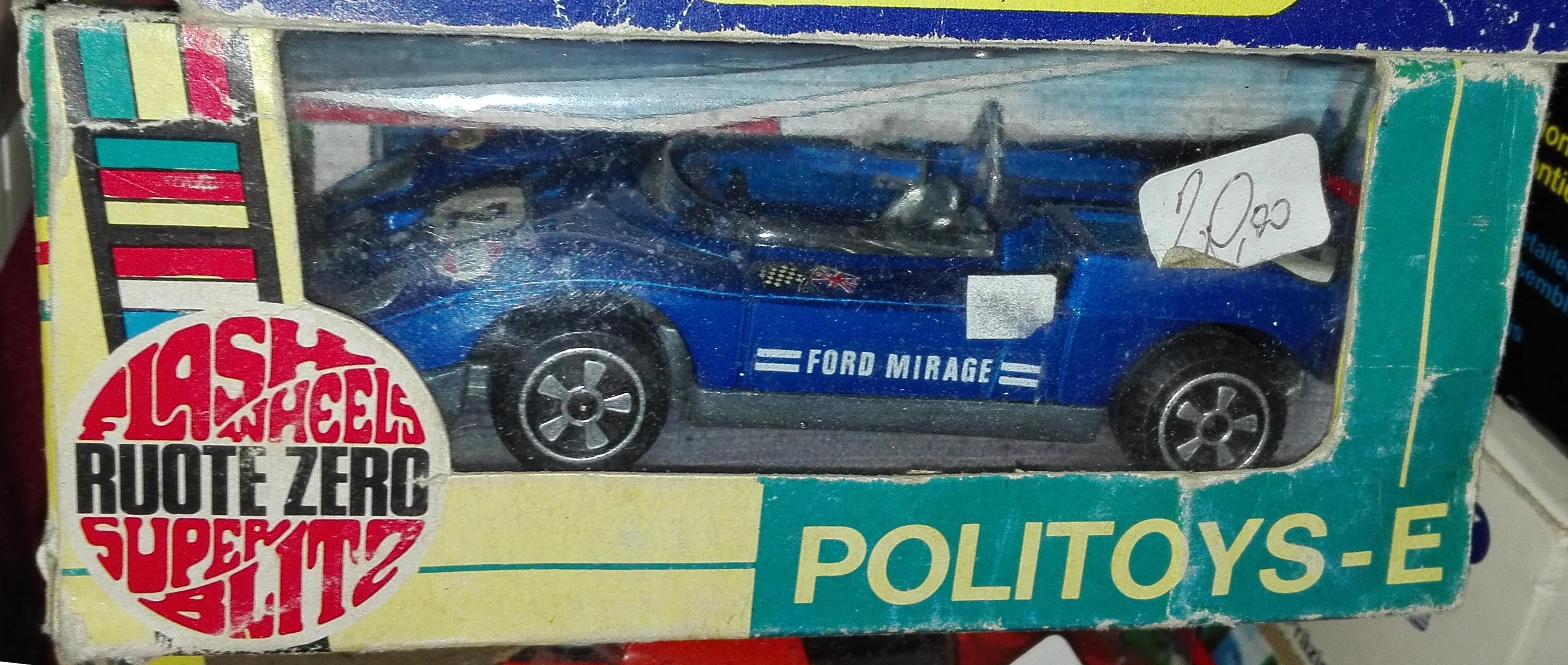 E15, Ford Mirage
