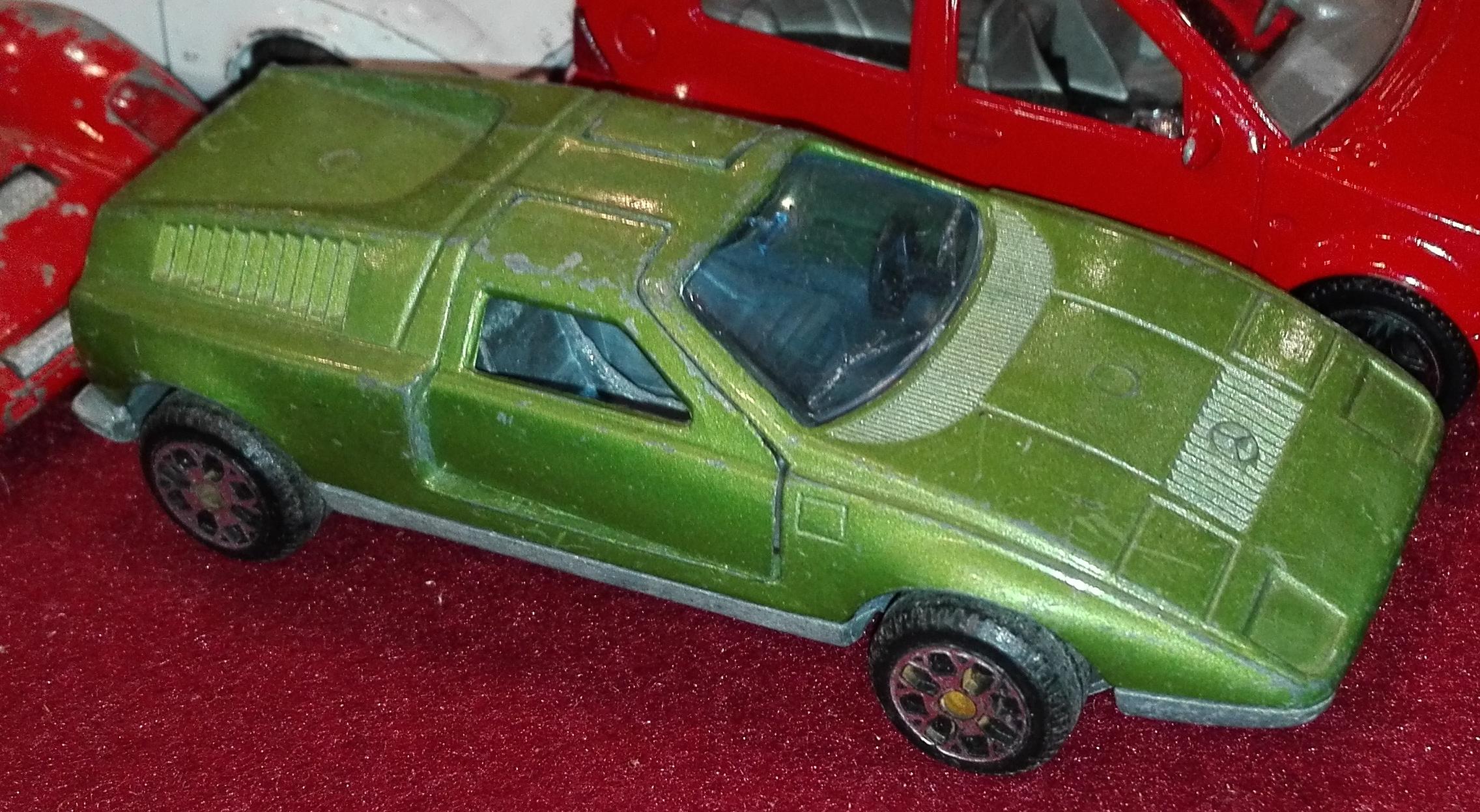 E16, Mercedes C111