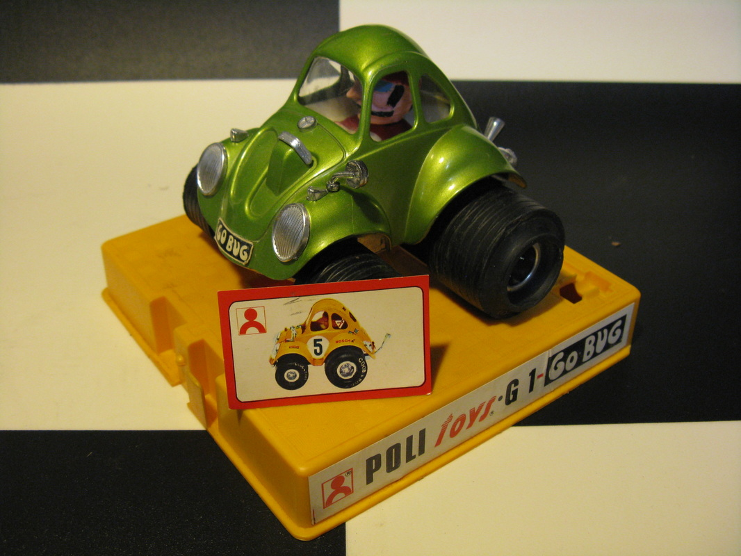 G1, Go Bug (cc-by-nc-sa 4.0 Marco Cattelan)