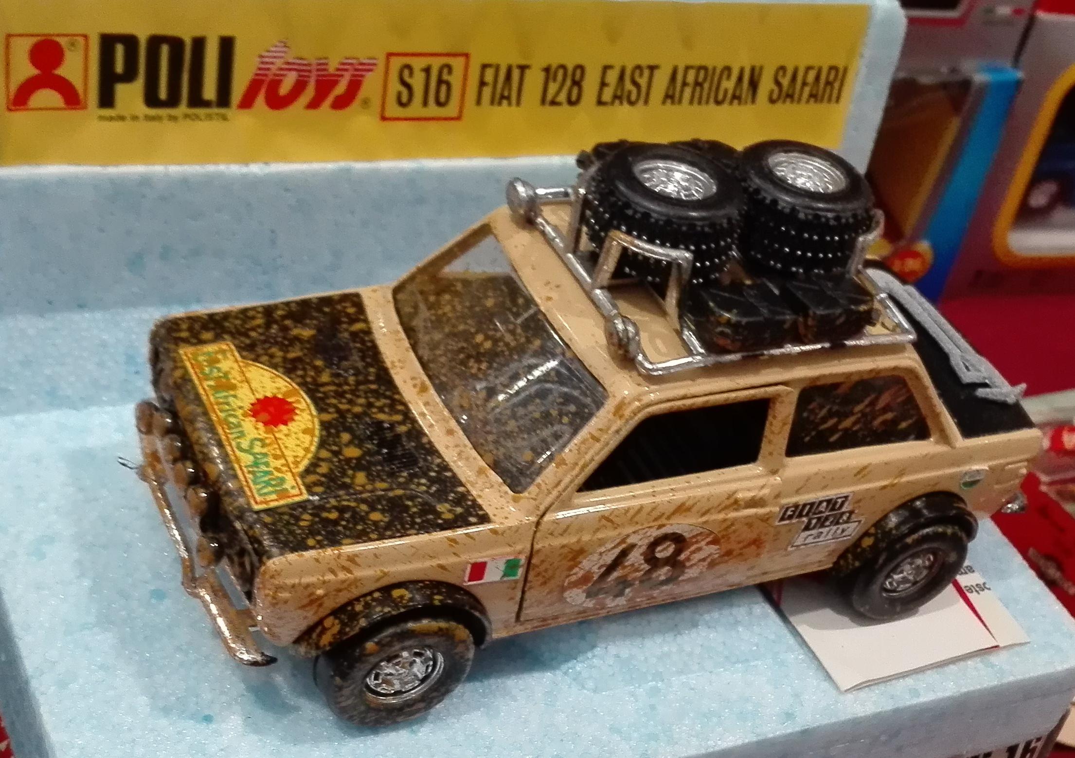 S16, Fiat 128 Rallye 1300 East African Safari (1973)