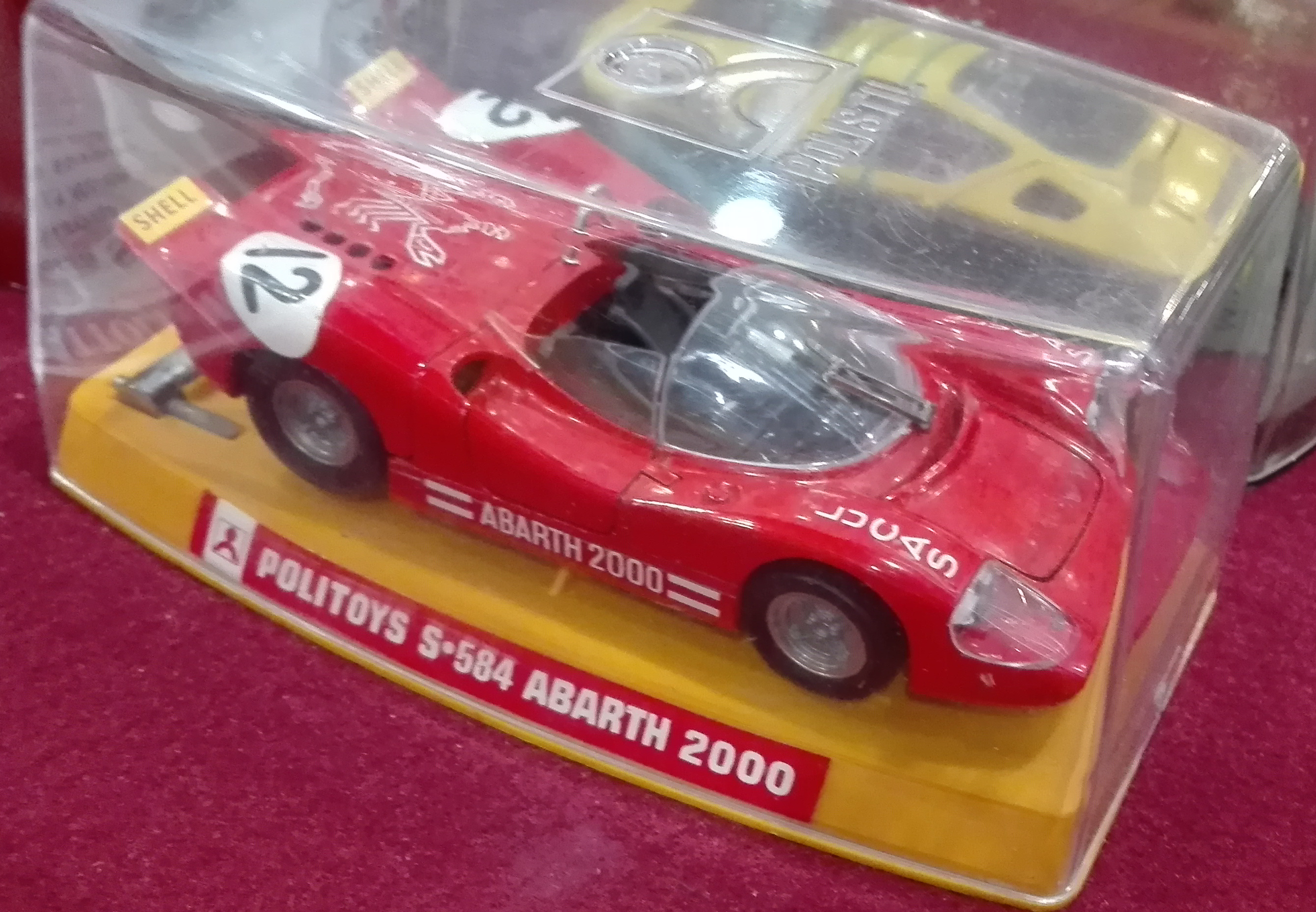 S584, Abarth 2000