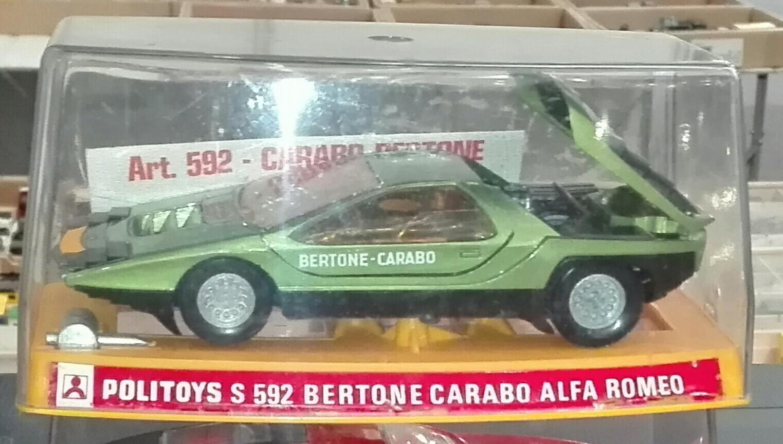 S592, Bertone Carabo Alfa Romeo